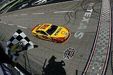 NASCAR - Sieben verschiedene Sieger in sieben Rennen: Logano siegt in der Verl�ngerung