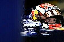 Formel 1 - Wer sich nicht verbessert, der ist drau�en : Daniil Kvyat: Den Erfolg im Visier