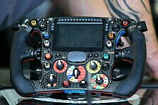 Formel 1 - Funkverbot: Das Lenkrad rückt in den Fokus