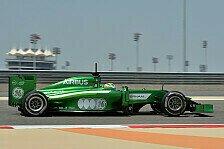 Formel 1 - Nachteil gegen�ber Leichtgewicht Kobayashi: Ericsson: Halbe Sekunde langsamer wegen Gewicht