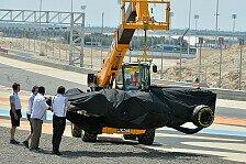 Formel 1 - Bilder: Bahrain III - Magnussen-Unfall
