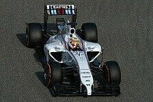 Formel 1 - Blo� kein Regen!: Williams Vorschau: China GP