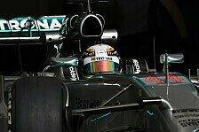 Formel 1 - Video: China GP: Lewis Hamilton im Simulator