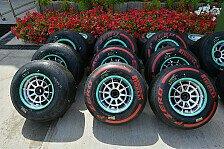 Formel 1 - Bilderserie: Spanien GP - Die Reifen in Barcelona