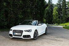 Auto - Windgeschwindigkeiten Richtung 300 km/h erwartet: ABT Sportslines pimpt Audi RS5 Cabrio