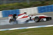 GP3 - Bilder: Testfahrten in Jerez
