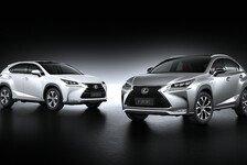 Auto - Scharf konturierte Formensprache: Der Lexus NX: Scharf geschnitten und effizient
