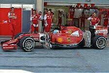 Formel 1 - Ferrari gr�bt Red-Bull- und Williams-Leichen aus: Testtag-Technik-Trends aus Bahrain