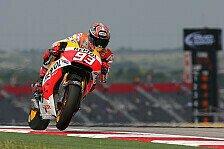 MotoGP - Bradl in Reihe eins: Marquez mit Pole-Rekord auf Startplatz eins