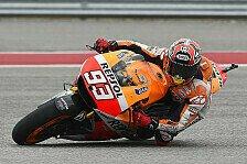 MotoGP - Weltmeister auf der Erfolgswelle: Marquez nach Pole: Keine perfekte Runde