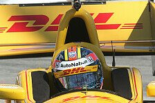 IndyCar - Sato bestraft: Hunter-Reay in Long Beach auf Pole