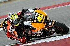 MotoGP - Am Sonntag wird es anstrengend: Espargaro: P4 t�uscht �ber mangelnde Pace