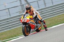 MotoGP - Vierte Bestzeit in vierter Session: Marquez f�hrt auch letztes Training an