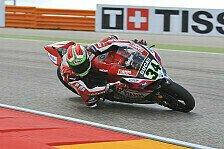 Superbike - Das war mein Fehler: Ducati: Top-10-Pl�tze trotz Sturz