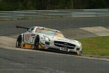 VLN - Zwei SLS AMG GT3 beim finalen Nordschleifen-Test: ROWE Racing startet bei der Adenauer Simfy Trophy