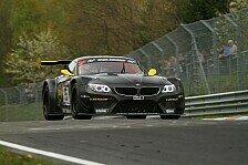 VLN - Klassensieg im Cup-Porsche: Br�ck: Erfolgreiche Premiere im BMW Z4 GT3
