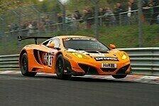 VLN - Zielankunft f�r den McLaren: D�rr Motorsport feiert Klassensieg