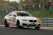 VLN - Entt�uschung bei Griessner: BMW M235i Cup - Vorzeitiges Ende f�r rent2Drive