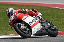MotoGP - Dovizioso verhindert Sturz nur knapp: Zwei Motorsch�den bei Ducati