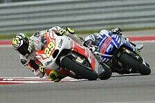 MotoGP - Gripverlust macht Podium zunichte: Iannone: Ducati wird st�rker