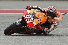 MotoGP - Keine Chance f�r die Konkurrenz: Marquez: Sieg trotz Spielchen mit den Gegnern