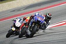 MotoGP - Haarstr�ubender Fr�hstart in Austin: Krise? Lorenzo zeigte erneut Nerven