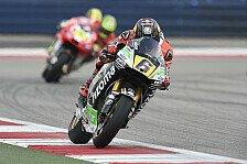 MotoGP - Die Bestzeiten im Vergleich: Austin: Die deutschen Fahrer im Check