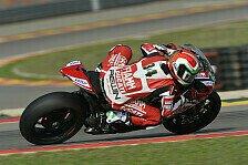 Superbike - Ducati: Stürze und andere Probleme