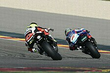 Superbike - Anst�ndige Resultate: Suzuki: Laverty k�mpft in Aragon