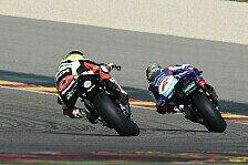 Superbike - Anst�ndige Resultate: Suzuki: Laverty k�mpft in Aragon