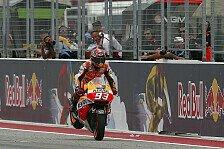 MotoGP - Testvorteil f�r vereinzelte Piloten?: Marquez wieder bei 100 Prozent