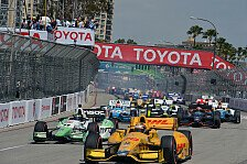 Formel E - Statt Los Angeles: Formel E f�hrt in Long Beach