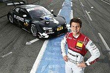DTM - Spektakul�res Design f�r RS 5 DTM von Edoardo Mortara: Audi-Pilot Tambay startet mit Playboy