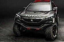 Dakar - Video: Peugeot stellt sein Dakar-Auto vor