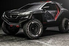 Dakar - Unkonventionelle Strategie: Peugeot verzichtet auf Allrad-Antrieb