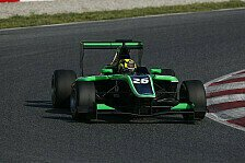 GP3 - Kirchh�fer auf Platz drei: Barcelona, Tag 1: Yelloly an der Spitze