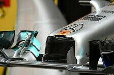 Formel 1 - Nasen-OP am Mercedes: Technik-Trends im Reich der Mitte