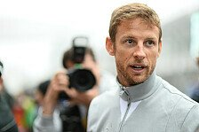 Formel 1 - Ballon-Nase nach Bienenstich: Crash! Button kollidiert mit Biene