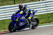 MotoGP - Rundenzeiten h�tten besser sein k�nnen: Suzuki nach Test nicht restlos zufrieden