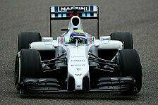 Formel 1 - K�hle Temperaturen, kaum Grip: Kalte Strecke bremst Williams ein