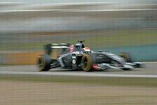 Formel 1 - Noch nicht dort, wo wir sein wollen: Sutil: N�her an den Konkurrenten dran