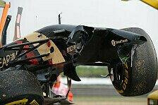 Formel 1 - Entertainer wider Willen: China-Kracher Maldonado: Kurioser Crash