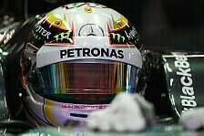Formel 1 - RB10 h�ngt am Abschleppseil: Freies Training: Hamilton gibt den Ton an