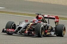 Formel 1 - Es w�re sch�n, wieder auf dem Podium zu stehen: Grosjean: E22 war instabil und unvorhersehbar