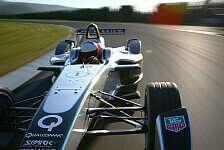Formel E - �berraschender Test: Emmanuel Collard: So f�hrt sich der Formel E