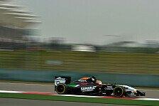 Formel 1 - Nur am Ende knifflig: Punktehamster H�lkenberg: M�ssen weiter pushen