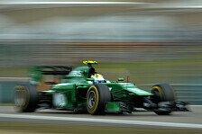Formel 1 - Am liebsten mit Rosberg und Button k�mpfen: Caterham Vorschau: Spanien GP