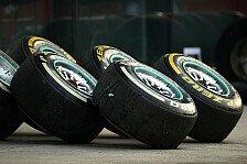 Formel 1 - Konzentration auf die Mitte verringern: Pirelli arbeitet f�r 2015 an Aufstandsfl�che