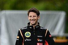 Formel 1 - Zuversicht in Barcelona: Grosjean hofft auf erste Punkte