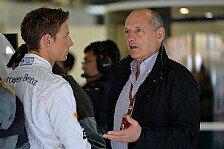 Formel 1 - Unzufriedenheit in Woking: Dennis: Button muss sich mehr anstrengen